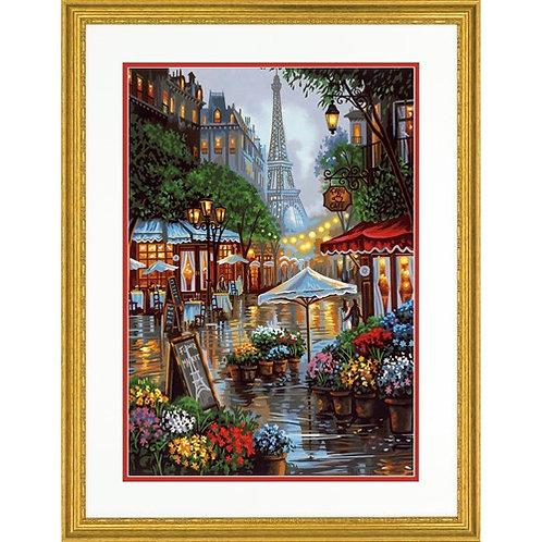 """Dimensions paintwork - Printemps a Paris 20""""x14"""""""