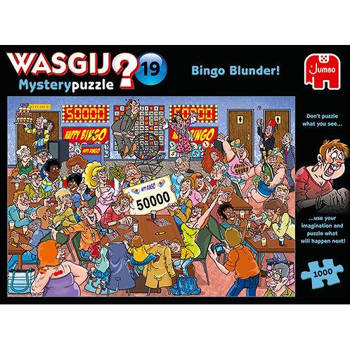 JUMBO - WASGIJ MYSTERY #19, BINGO À TIRE-LARIGOT !1000pcs