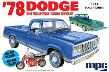 MPC - 1/25 1978 Dodge D100 Pick-Up