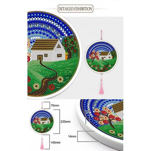 Jacarou - MAISON Kit avec cadre rond