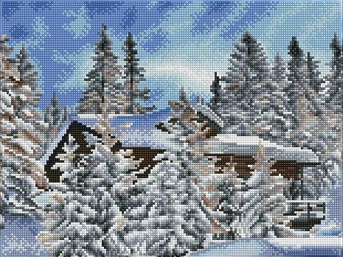 Diamond Dotz Square - Alpine Retreat