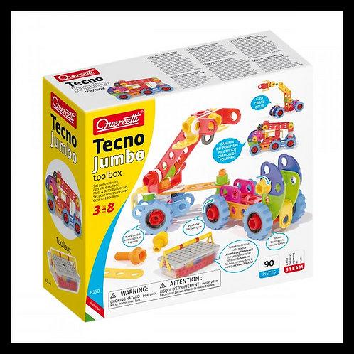 Quercetti - Techno Jumbo toolbox