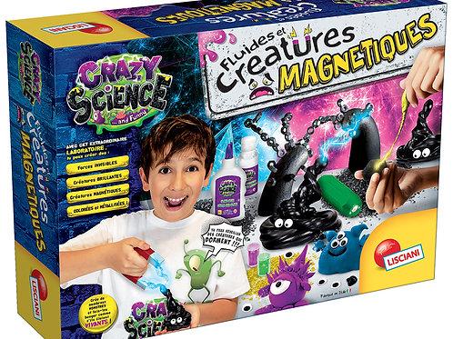Crazy Science Fluides et créatures magnétiques