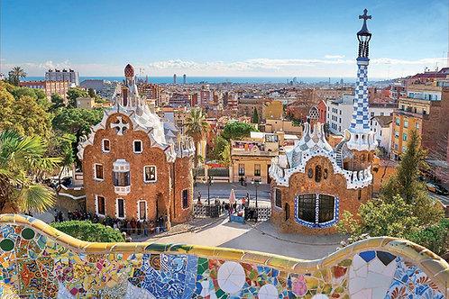 Educa -  Vue de Barcelone 1000pcs