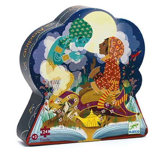 Djeco - Puzzle silhouette / Aladin