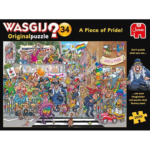 JUMBO - WASGIJ ORIGINAL #34, LA PARADE DE LA FIERTÉ ! 1000pcs
