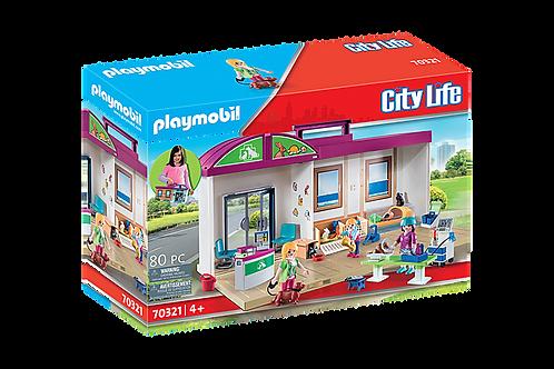 Playmobil - Clinique vétérinaire transportable