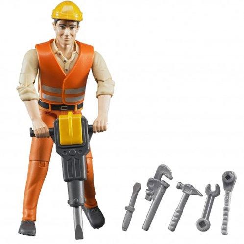 Bruder - Figurine avec accessoires