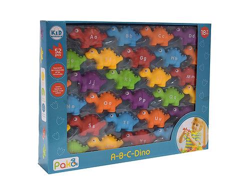 Pakö - A-B-C- Dino 52 pièces