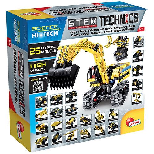 Science Hi-Tech- Robot/ Pelleteuse 25en1 Technics