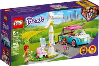 LEGO Friends - La voiture électrique d'Olivia