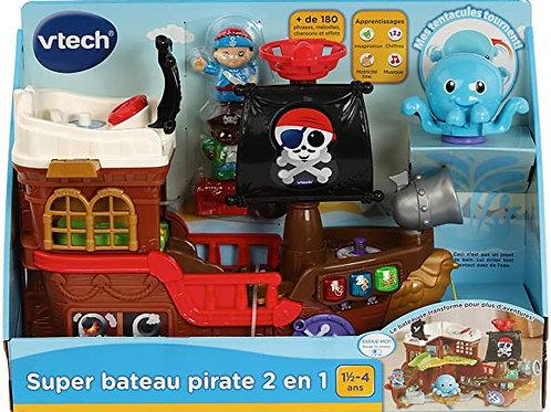 Vtech - Super Bateau Pirate 2en1
