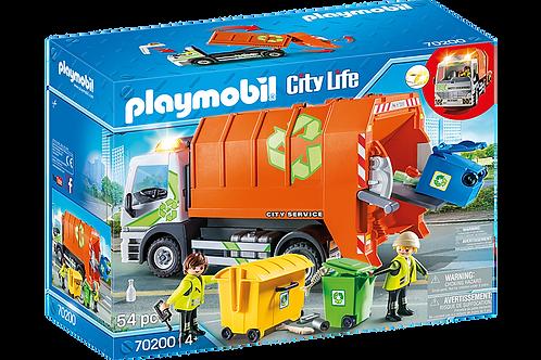 Playmobil - Camion de recyclage des ordures