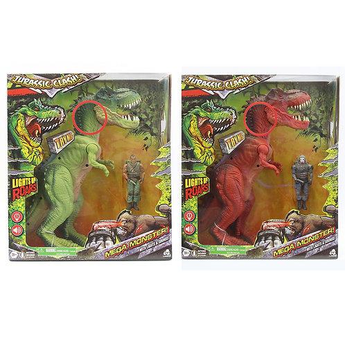 Jurassic Clash - Mega Monster! Ensemble Dino 30 cm