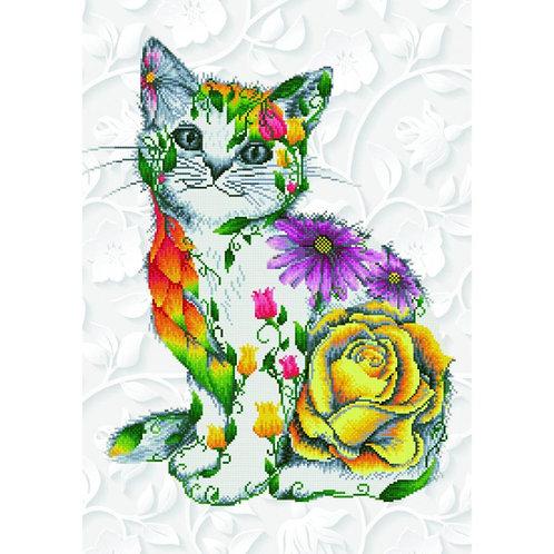 Diamond Dotz - Flower Puss
