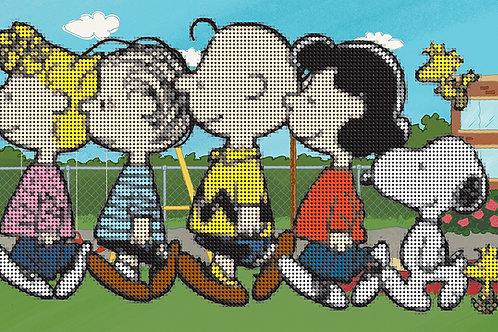 Diamond Dotz Peanuts - The Peanuts Gang