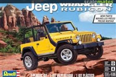 Revell - 1/25 Jeep Wrangler Rubicon