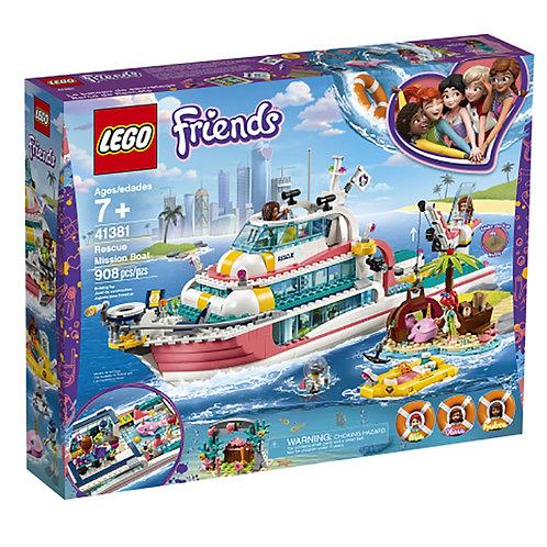 Lego Friends - Le bateau de sauvetage