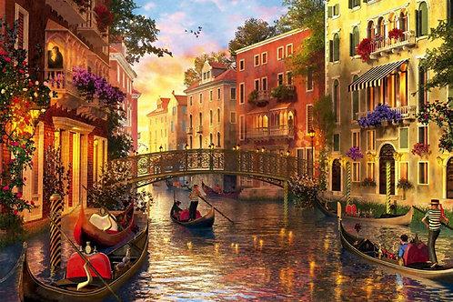 Educa - Coucher de soleil à Venise 1500 pcs