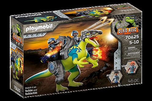 Playmobil - Dino Rise Spinosaure et combattants