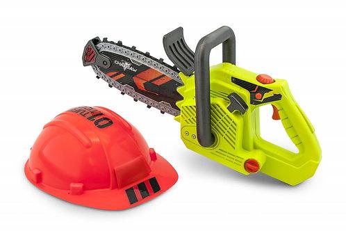 Tuff Tools - Scie à chaîne et casque