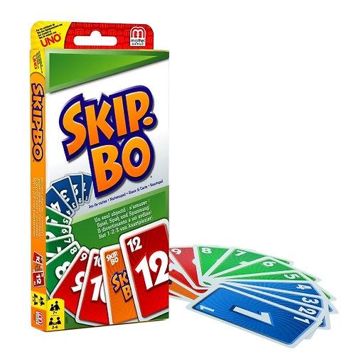 Mattel - Skip-Bo - Jeu de cartes
