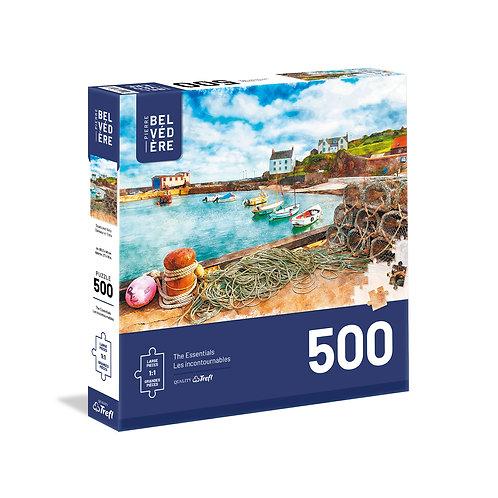 Belvedere - Bateaux & Filets 500pcs (grande piece)