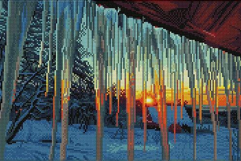 Diamond Dotz Square - Frosty Morn