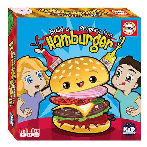 Educa - Prépare ton hamburger