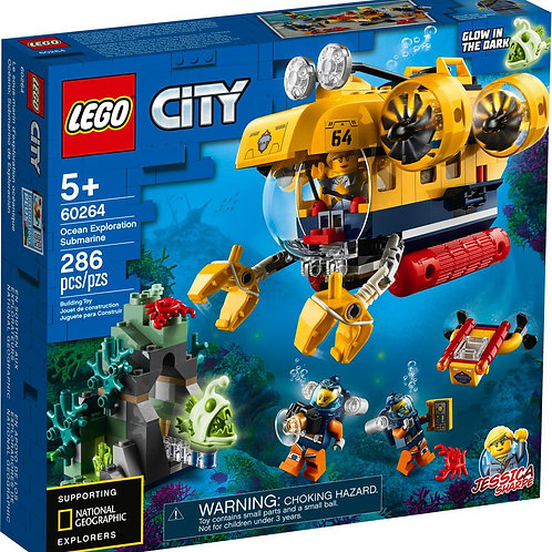 Lego City -  Le sous-marin d'exploration océanique