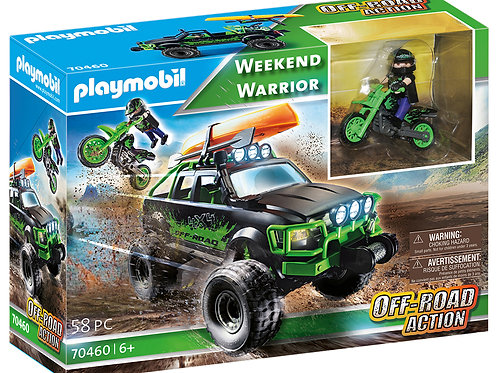 Playmobil -Off-Road Action - Guerrier de fin de semaine
