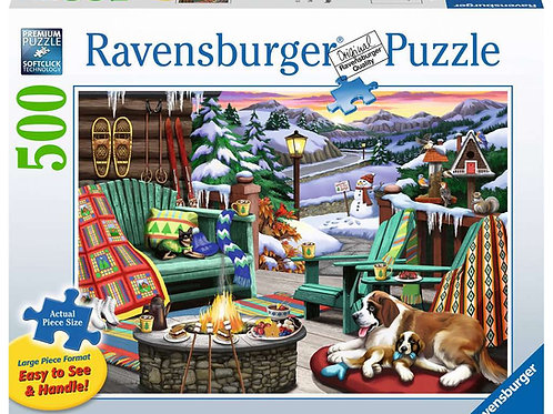 Ravensburger 500 pcs (grand format)