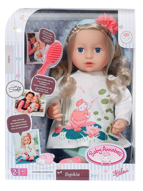 """Baby Annabell - Poupée Sophia """"So Soft"""" 43 cm"""