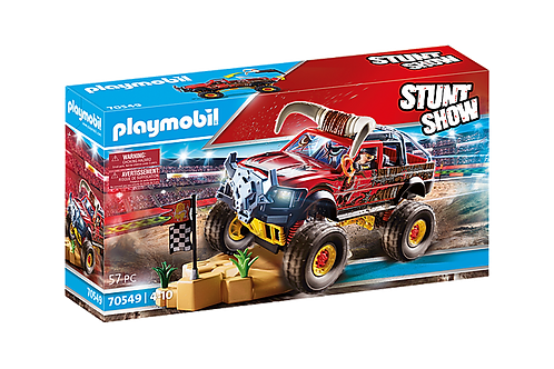 Playmobil - Stuntshow 4x4 de cascade Taureau