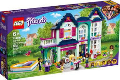 LEGO Friends - La maison familiale d'Andréa