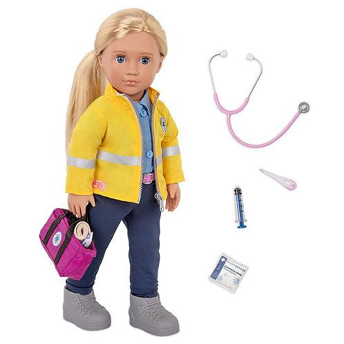 Our Generation -Ambulancière Kaylin 46 cm