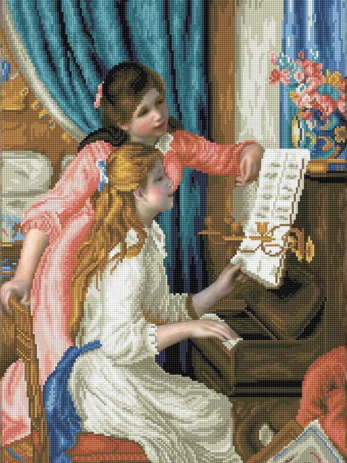 Diamon Dotz - Girls at the piano