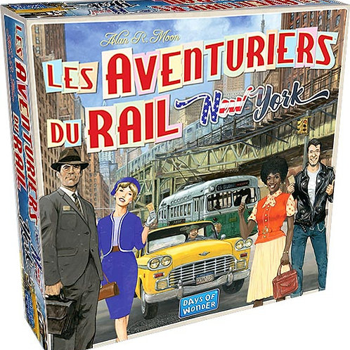 Les aventuriers du rail express : New York