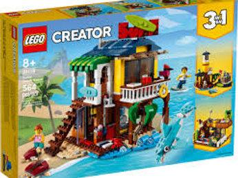 LEGO Créator - La maison sur la plage du surfeur