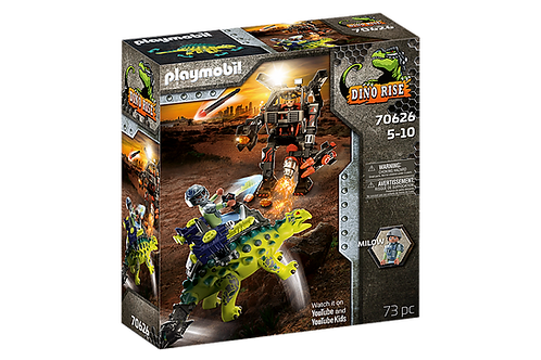 Playmobil - Dino Rise Saichania et Robot soldat