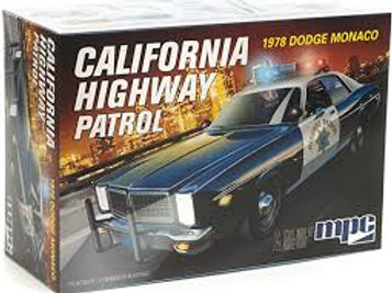 MPC- 1/25 1978 Dodge Monaco CHP Police Car
