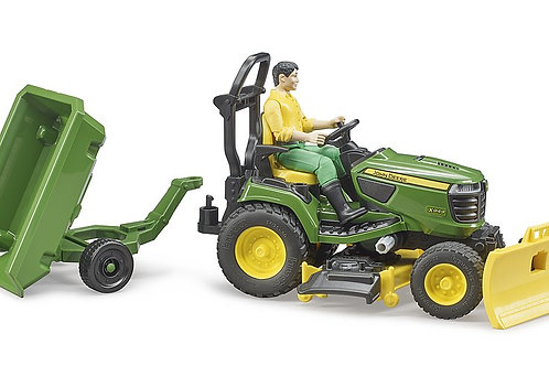 Bruder - Tracteur tondeuse John Deere bworld