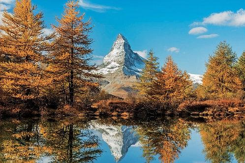 Educa - Mont Cervin en automne 1000 pcs