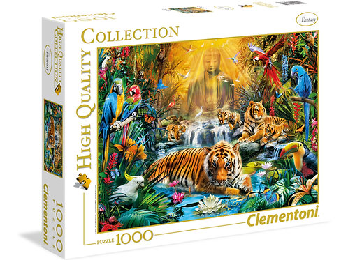 Clementoni - Tigre mystique 1000pcs