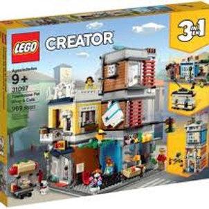 LEGO Créator - L'animalerie et le café