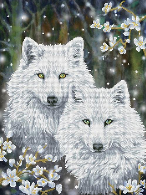 Diamond Dotz - Winter Wolves