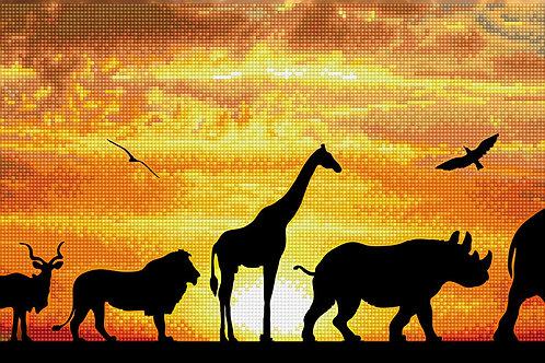 Diamond Dotz - African Sky
