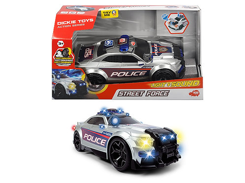 Dickie - Action Series - Police Street Force Sons et lumières 33 cm