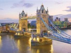 Clementoni - TOWER BRIDGE,LONDRES 1000pcs
