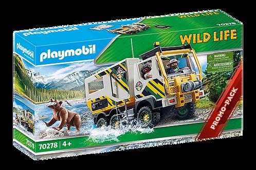 Playmobil - Véhicule d'expédition